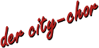Logo city-chor