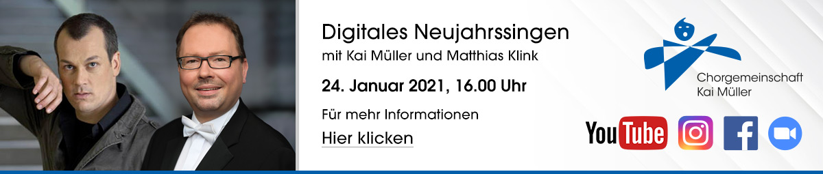 Digitales Neujahrssingen